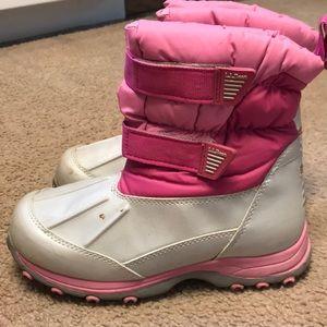 L.L. Bean kids snow boot. Size 3